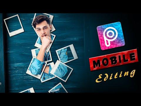 Polaroid photo frames collage editing |Mobile editing | Picsart tips