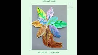 #파닉스아트#영어미술#Tree#만들기유아부터 초등학생까…