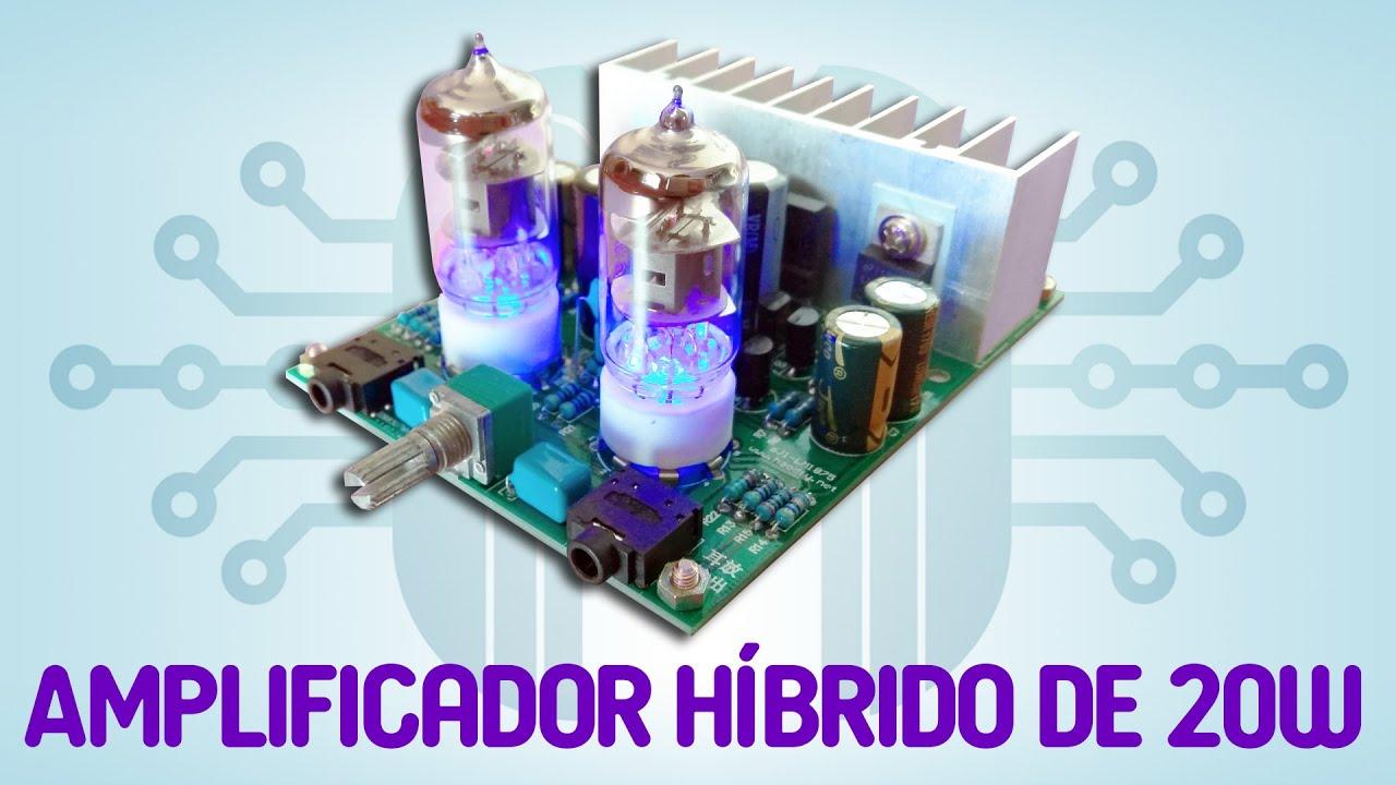 DIY Kits HIFI 6J1 Electronic Tube Amplifier Board Headphones