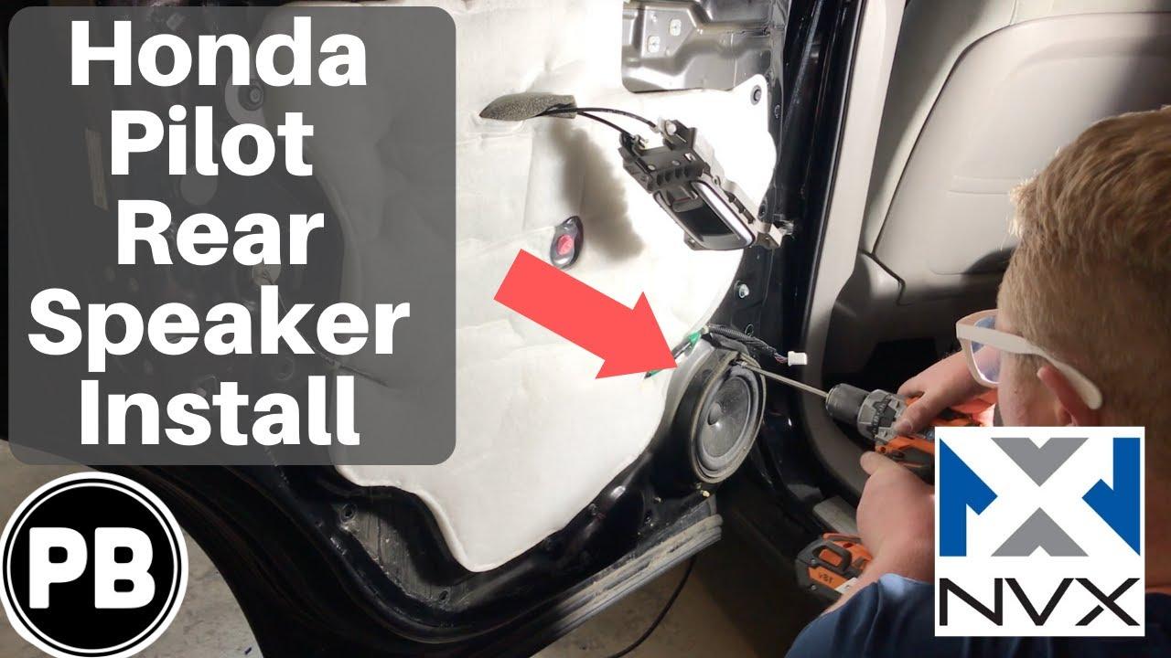 2009 - 2015 Honda Pilot Rear Speaker Install