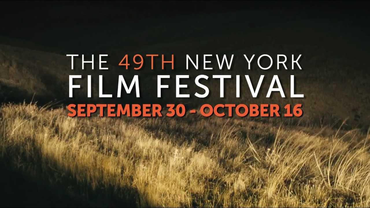 Trailer for the 49th New York Film Festival