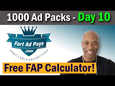 Fort Ad Pays  –  Calculator  |  Strategy  |  Mike Dennis
