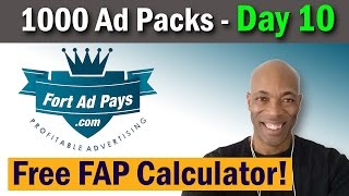 fort ad pays calculator   strategy   mike dennis