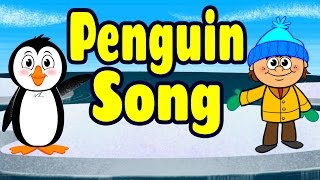 Penguin Song - Penguin Dance - Brain Breaks - Kids Songs by The Learning Station