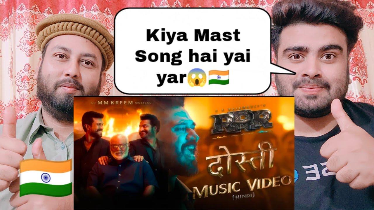 Download Dosti Music Video - RRR - Amit Trivedi, MM Kreem | NTR, Ram Charan, Ajay Devgn, Alia | SS Rajamouli