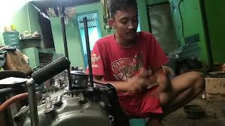 Bore up GL 125.Gas bikin ampun