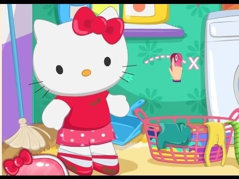 4df6e2b3d Hello Kitty Games Movie - Hello Kitty Laundry Day - Baby Movie Game - Dora  The