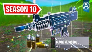 "NOUVEAU ""MACHINE PISTOL"" Gameplay Soon // 2400 'Wins // Use Code: byArteer (Fortnite Battle Royale LIVE)"