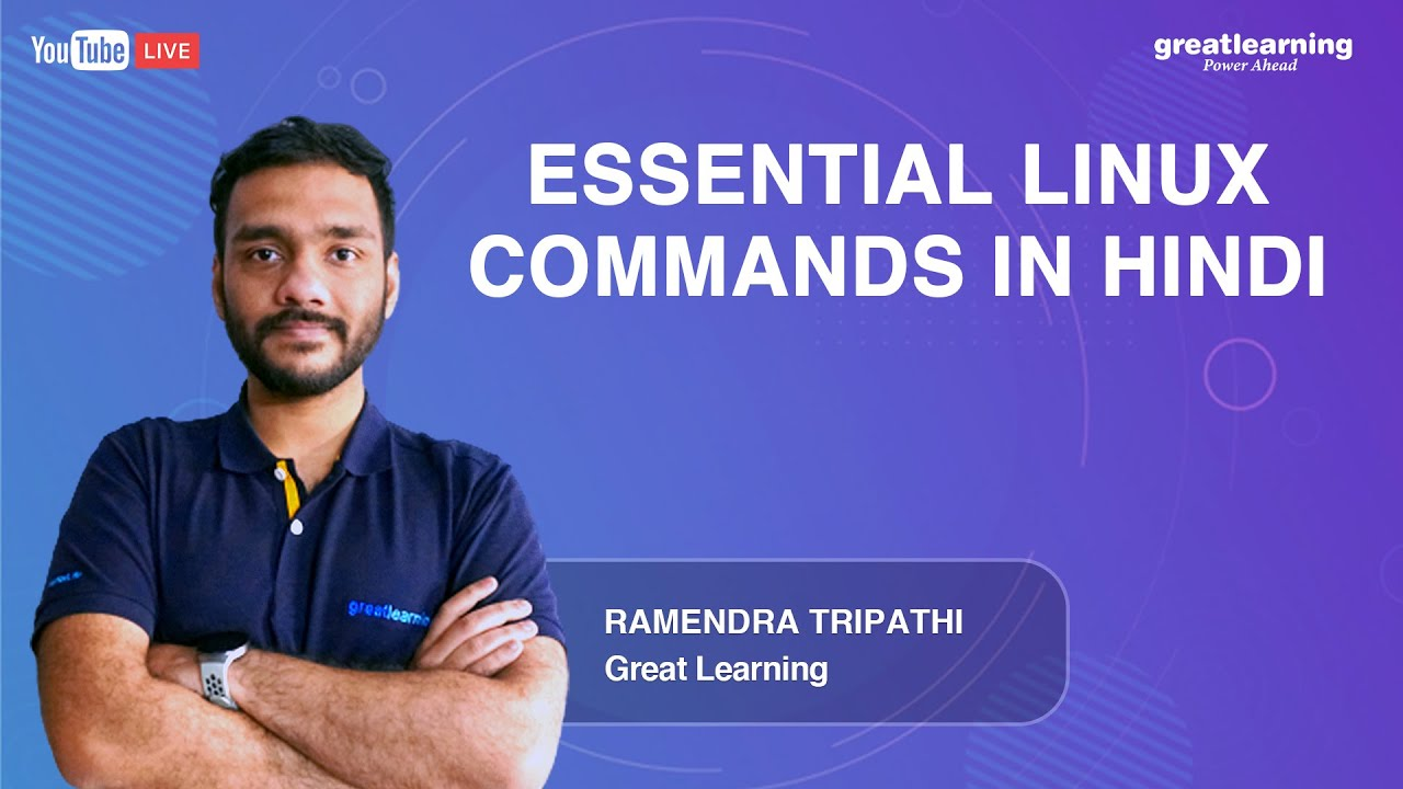 Essential Linux Commands in Hindi | Linux Commands Tutorials