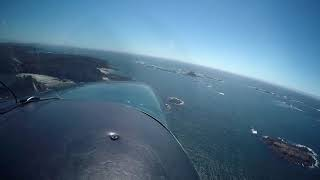 Vargas Island Beach Landing in Cessna Centurion C210