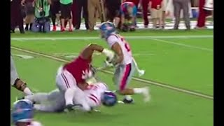 How Alabama football deals with cut blocks