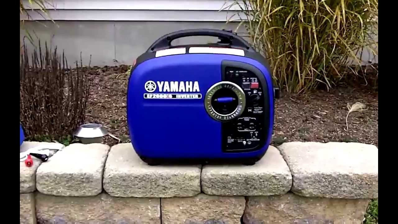 Yamaha 2000 portable generator review best price youtube for Yamaha 2000 generator review