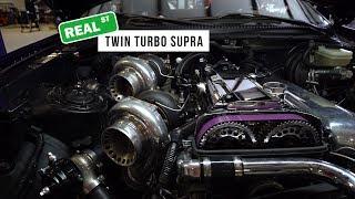 Twin 6466 Turbo 3.4L Stroker 2JZ-GTE Toyota Supra - Real Street Performance
