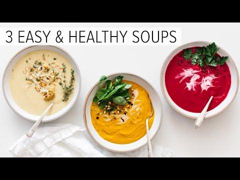 EASY & HEALTHY SOUP RECIPES | vitamix soup recipes