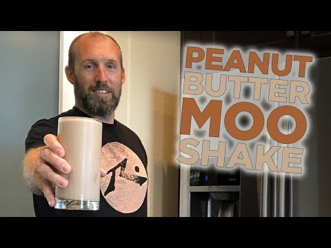Save money with this homemade Peanut Butter Moo'd Smoothie
