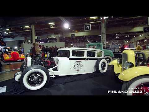 American Car Show 2017 Helsinki, Muscle Cars, Classic Cars, Hot Rods, Tuning Cars Show