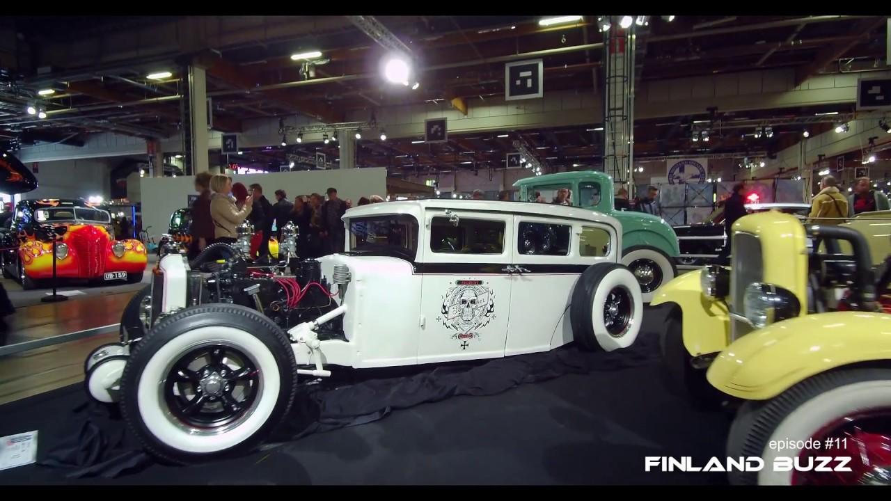 American Car Show Helsinki Muscle Cars Classic Cars Hot