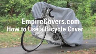 How To Use A Bicycle Cover