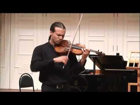 "Romuald Grimbert-Barre  ""Hommage à Oistrakh"" by Frolov (Presto)"