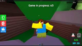 KILLING PPL AND WINNING A GAME! (Murder 15 Roblox)