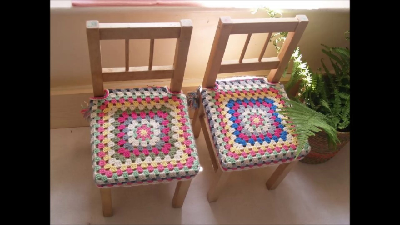 Chair And Stool Covers Toddler Shower Crochet - Youtube