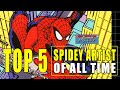 Top 5 Spider-Man Comic Book Artist Of All Time! Ditko, Mcfarlane, Bagley. More!