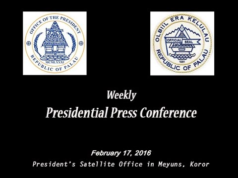 Presidential Press Conference 2.17.2016