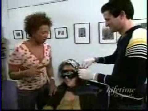 Me on lifetimes head2toe as the hair expert