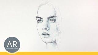 NEU ! Schnell und einfach Gesichter zeichnen lernen. Porträt zeichnen – das neue Akademie Ruhr Buch