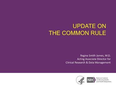 Common Rule Update