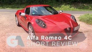homepage tile video photo for EXTRA: Alfa Romeo 4C SHORT REVIEW - The Best Affordable Driver's...