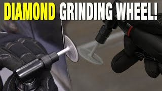 Clean Up Those Edges! The Diamond Wheel Deburring Tool YOU NEED when Cutting Metal - Eastwood