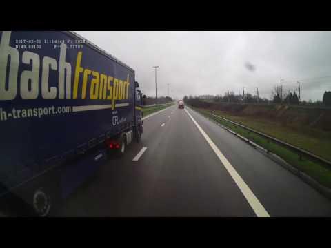 Belgium. Motorway A4, 0-20 km. 2017-03, 1x