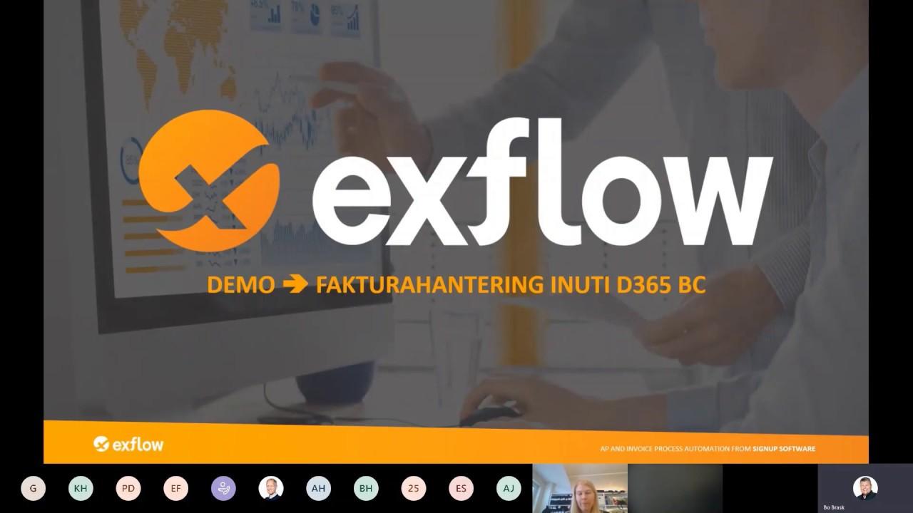 Exflow - Digital fakturahantering i ditt NAV eller BC