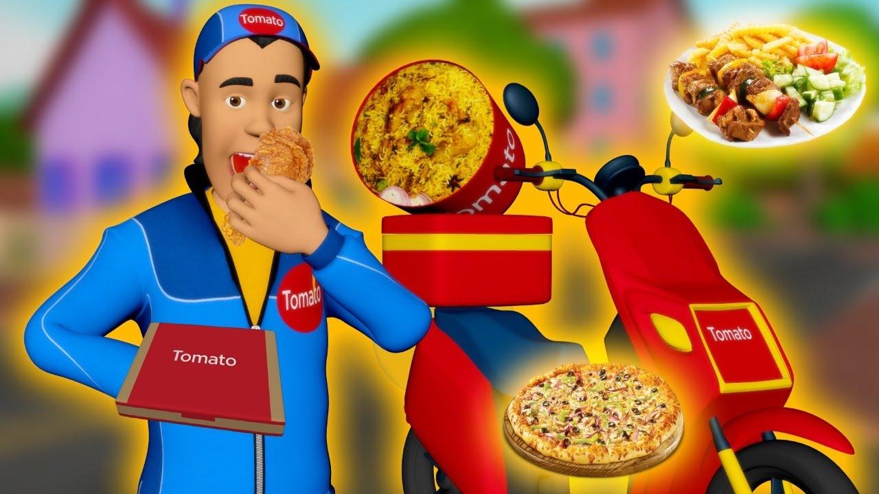Download తిండిపోతు డెలివరీ బాయ్ | Greedy Delivery boy | Telugu Kathalu | Telugu Stories | Dada TV Telugu