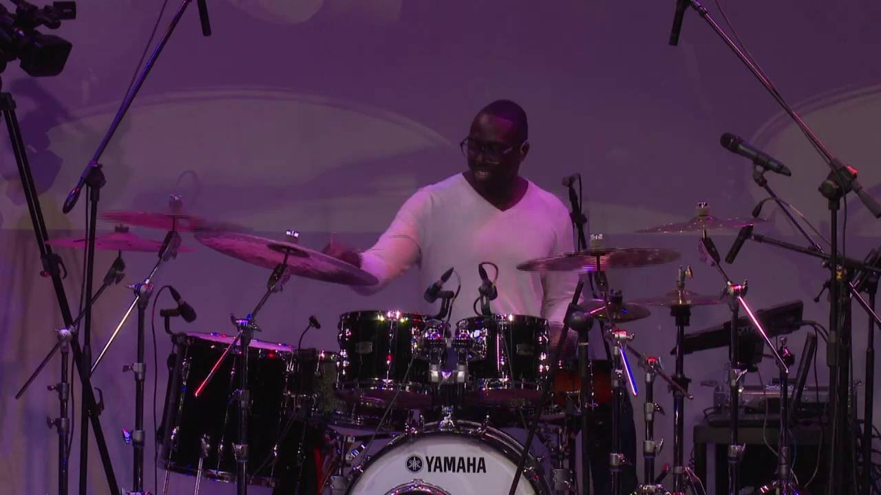 Larnell Lewis Drum Clinic - World of Yamaha, Johannesburg