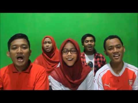 Merah Putih Gombloh acappella cover by Voice of Five