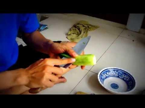 Hướng dẫn cắt tỉa rau, củ, quả [part 1]