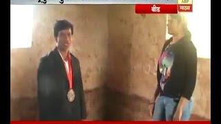 स्पेशल रिपोर्ट : बीडच्या रौप्य विजेती पैलवान सोनालीचं जंगी स्वागत