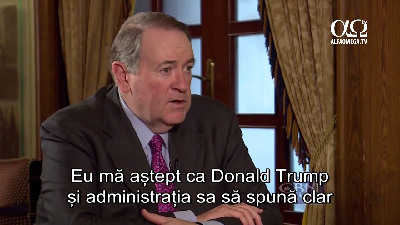 Mike Huckabee - cum vor fi relatiile dintre viitoarea administratie Trump si statul Israel