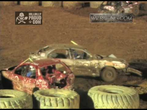 Kings of Karnage Demolition Derby Compact Car Finale Tyler County Speedway July 2, 2016