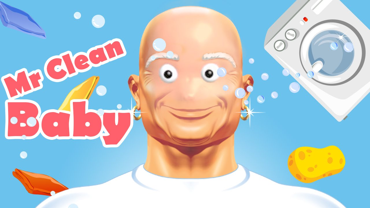 mr clean baby youtube