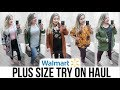 INSIDE WALMART'S DRESSING ROOM | Fall 2018 Plus Size Fashion