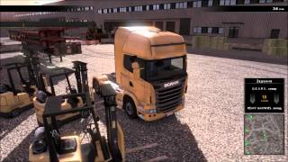 Scania Truck Driving Simulator Обзор