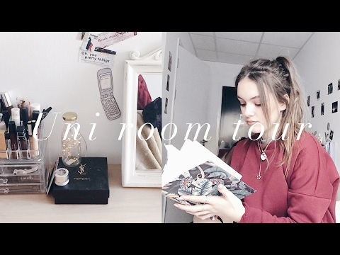 REALISTIC UNI ROOM TOUR | uni of lincoln | ames banks