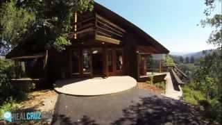 a frame laguna beach style cabin in the santa cruz mountains   848k