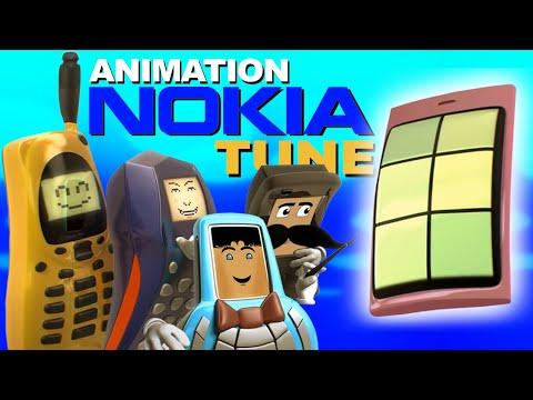 The Evolution Of Nokia Tune - Nokia Tune Animation