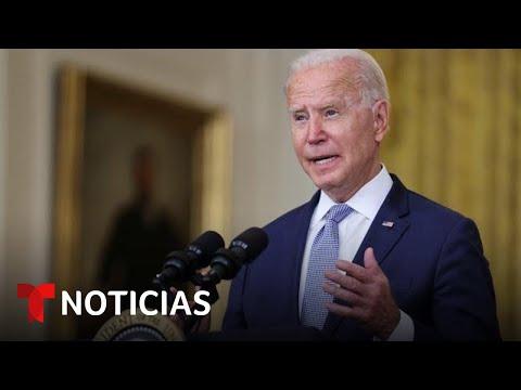 Caos en Afganistán: Joe Biden se dirige a la nación para explicar la retirada de tropas