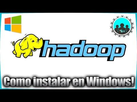Como Instalar Apache Hadoop en Windows