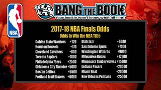 BTB 2018 NBA Finals Odds